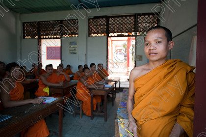 Monk Teacher Laos 