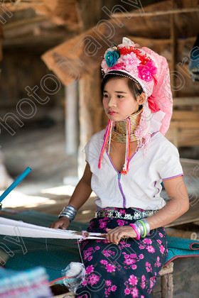 Tribal Woman 2, Chiang Mai. 