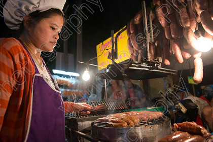Sausages, Chiang Mai. 