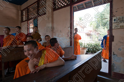 Monks School Laos 