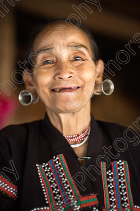 Tribal Woman 1, Chiang Mai. 